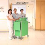Fotoaufnahmen der Gynaekologischen und Geburtshilflichen Abteilung der Krankenanstalt Rudolfstiftung