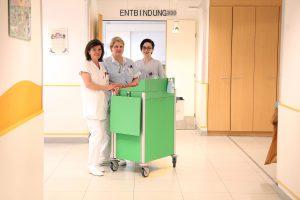Patientenbetreuung in der Rudolfstiftung