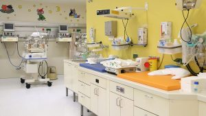 Kinderzimmer im Donauspital