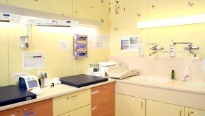 Krankenhaus Göttlicher Heiland Untersuchungszimmer