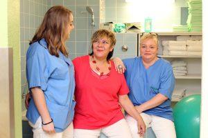 Team der Geburtshilflichen Abteilung des Wilhelminenspital