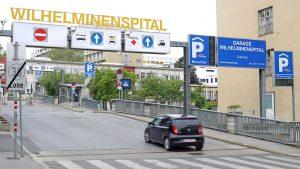 Wilhelminenspital Einfahrt